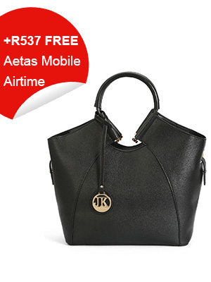 Appealing Black Tote Bag